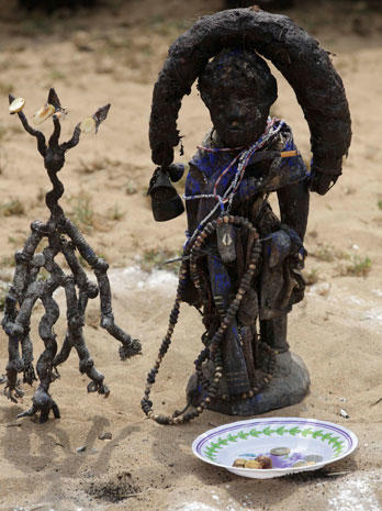 Voodoo festival in West Africa
