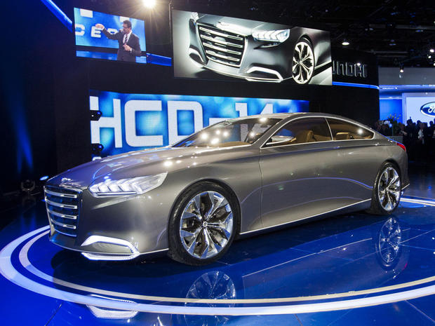 What's new at the Detroit Auto Show