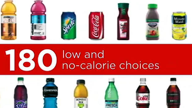 coca-cola ads to address obesity epidemic - cbs news