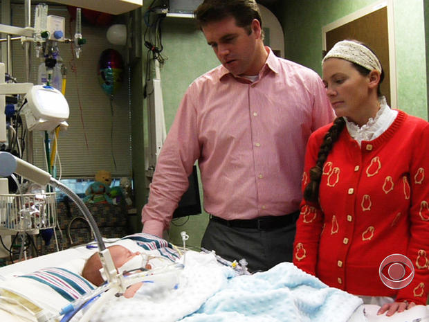 Stephen and Rebekah Sanford were called to their son Jude's bedside after his health quickly deteriorated.