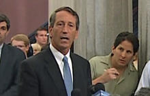 Ex-S.C. Gov. Mark Sanford seeks second chance