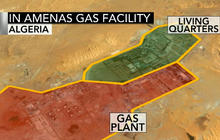 Algerian troops open fire on western hostages