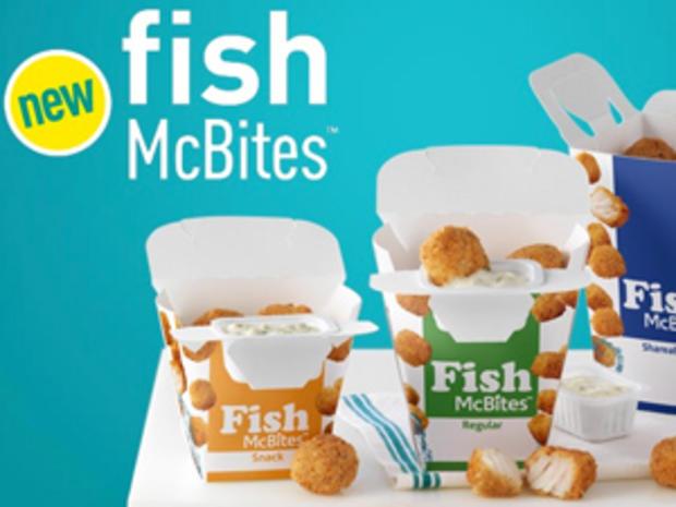 McDonald's Fish McBites