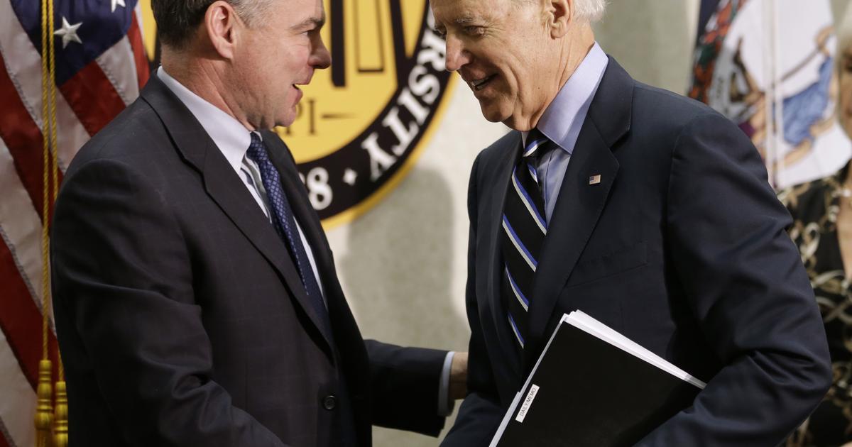 Senator Tim Kaine endorses Joe Biden ahead of Super Tuesday