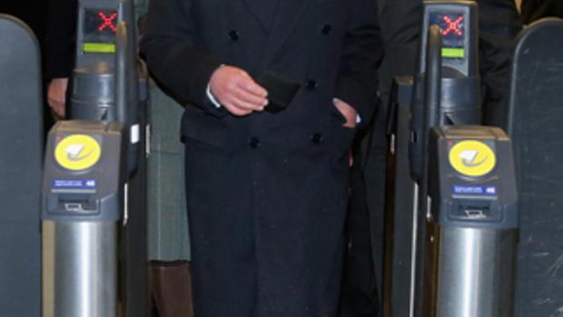 Prince Charles and Camilla take the Tube