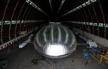 Hovering Aeroscraft being built in Calif.