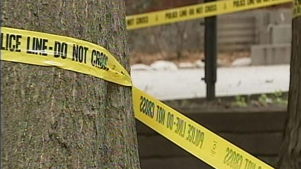 Crime scene photos: Savage early morning attack