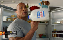 "EXCLUSIVE: ""The Rock"" in ""Got Milk?"" Super Bowl ad"
