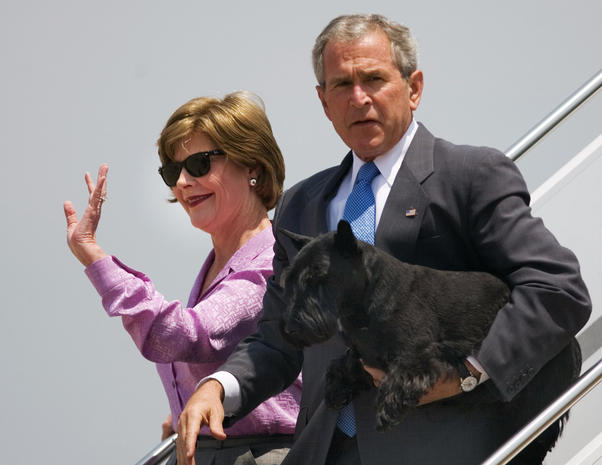 Barney, George W. Bush's dog, dies