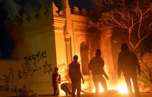 Egypt protesters attack presidential palace in Cairo