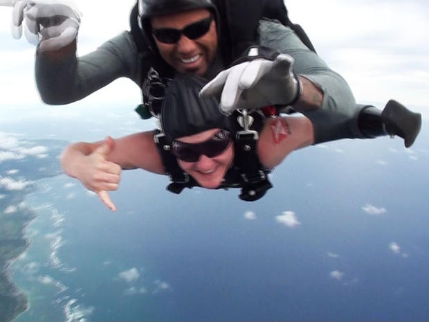 Todd Love took on skydiving to satisfy his need for adventure.