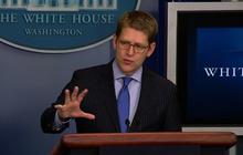 """Carney: Drones """"significantly"""" limit civilian casualties"""