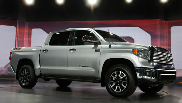 Toyota introduces redesigned Tundra pickup - CBS News