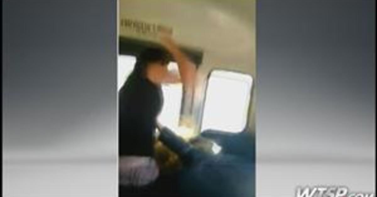 VIDEO Fla School Bus Beating Caught On Camera CBS News