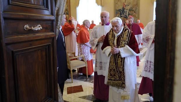 pope benedict xvi to resign this month cbs news