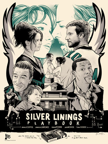 Oscars 2013: Artwork inspired by best picture nominees