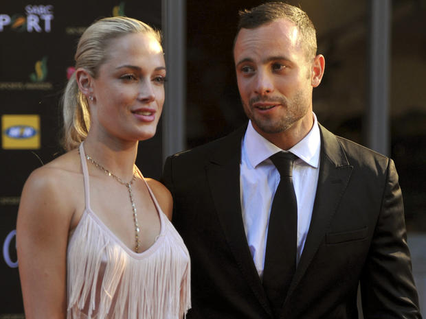 Oscar Pistorius' model girlfriend