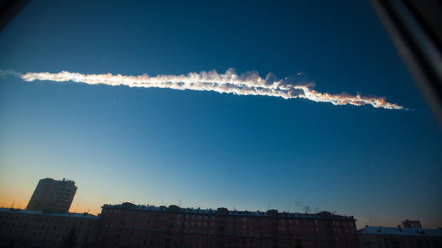 Meteorites crash into Russia