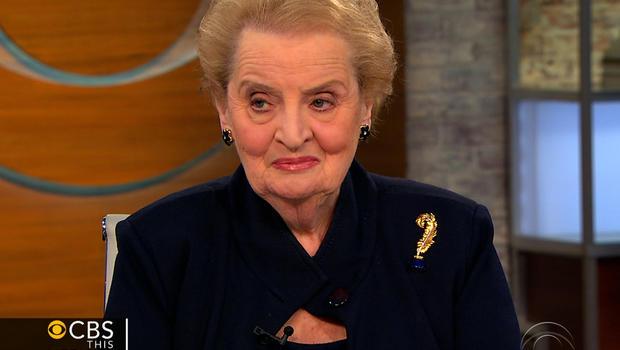 "Madeleine Albright on ""CBS This Morning."""