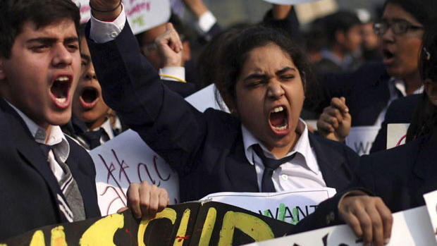 Women revolt against a culture of rape