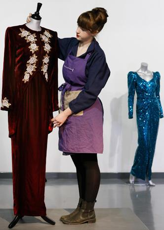 Princess Diana's dresses up for auction