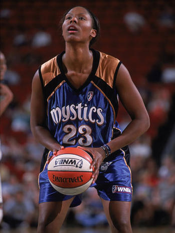 Former WNBA player indicted on assault charges