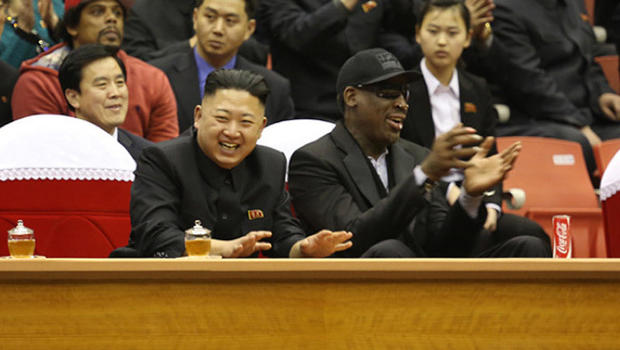 Dennis Rodman: Kim Jong Un just wants Obama to call - CBS News