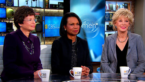 Eye-Opening Women: Valerie Jarrett, Condoleeza Rice, Lesley Stahl