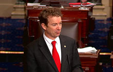 Sen. Rand Paul filibusters for nearly 13 hours