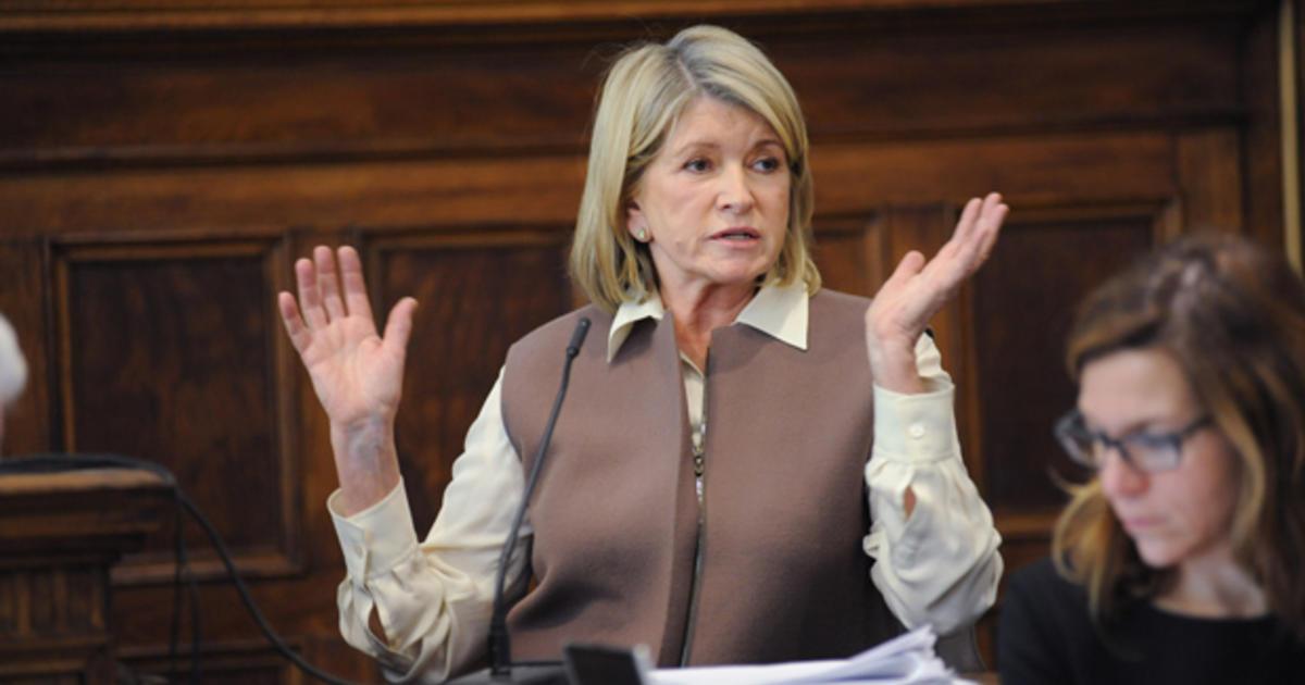 martha stewart trial