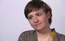 "Lena Dunham on ""Girls"": Nudity not meant to shock"