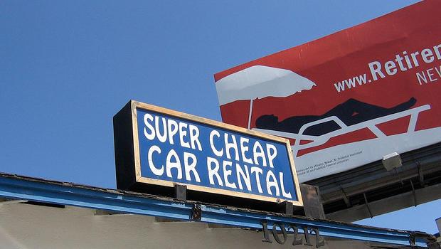 super cheap car rental coupon