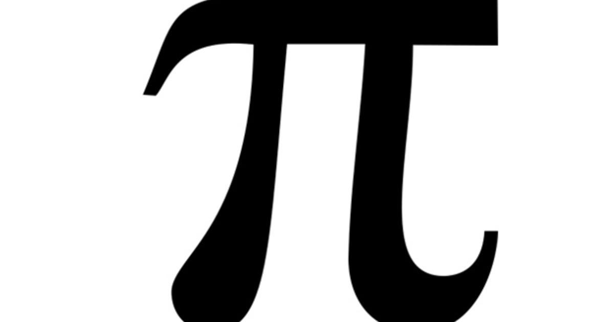 Pi day tip on how to remember mathematical constant to 15 for Pi character