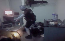 Watch: Helmet cam of police searching UCF dorm