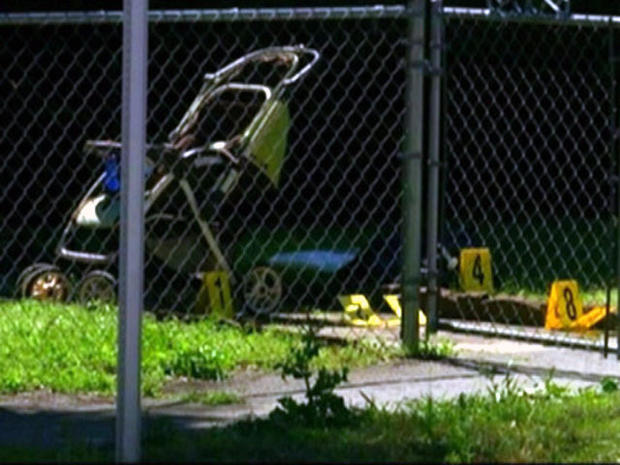 Ga. baby fatally shot in stroller