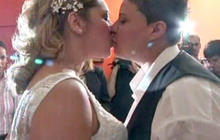 Brazilian same-sex couples hold mass wedding celebrating historic law