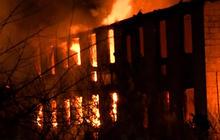 Arson mystery grips rural Va. town