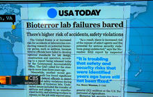 Headlines: Security risks at U.S. lab testing viruses