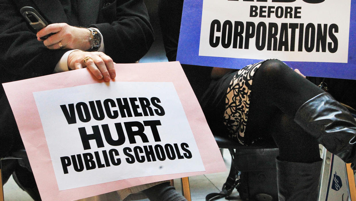 a proposal for the use of private school vouchers