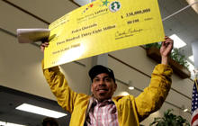 Bodega owner collects $338 million Powerball jackpot