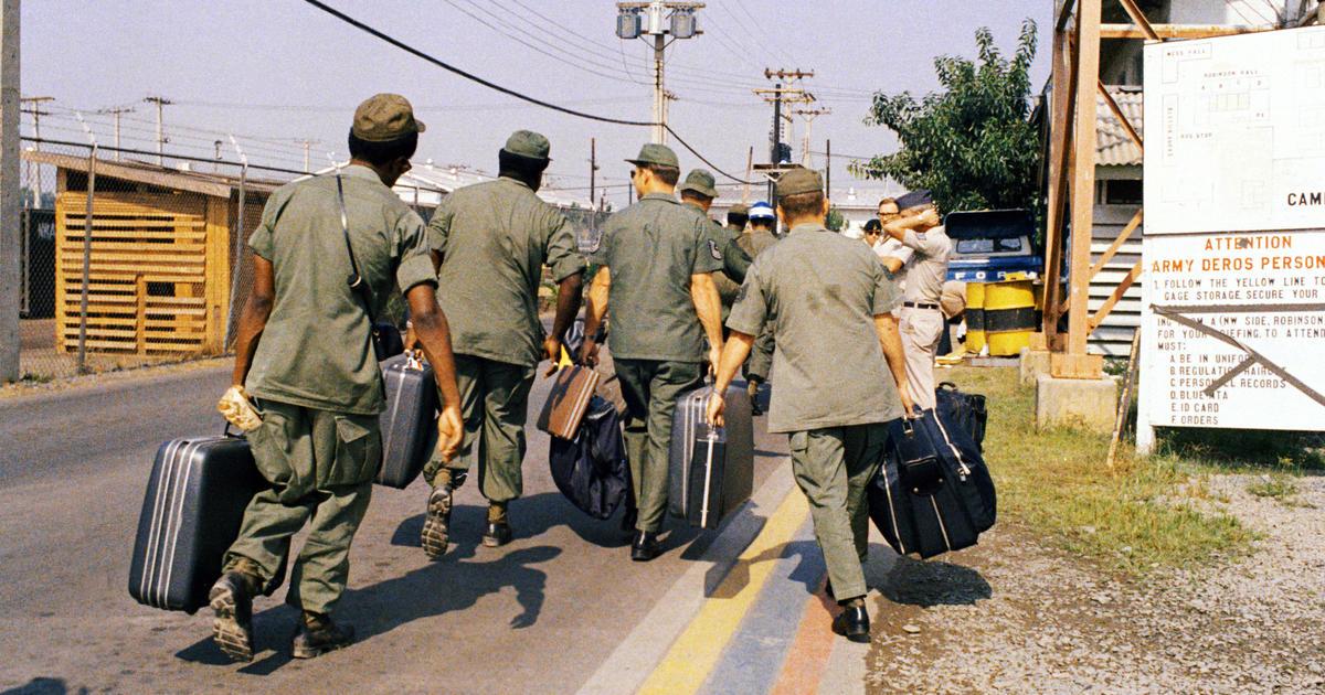 Americans Troops Leave Vietnam Anniversary Of American Militarys
