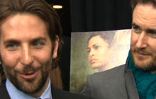 Bradley Cooper ropes in old school pals for premiere