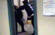 Violent NYC subway mugging caught on tape