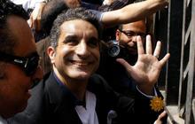"Bassem Youssef, ""Egypt's Jon Stewart"""