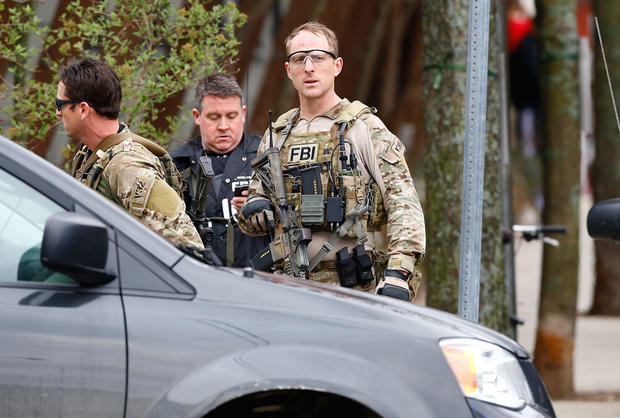Manhunt for Boston bombing suspects