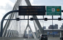 Boston on lockdown