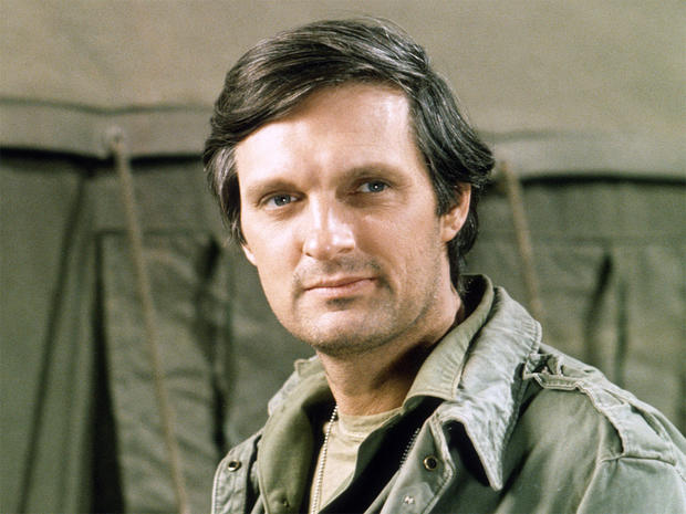 alan alda stars who served in the military pictures cbs news