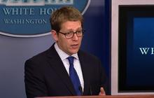 "WH warns against ""jumping to conclusions"" on Boston suspects' background"