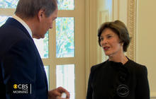 Former first lady Laura Bush shares tour of new Bush center