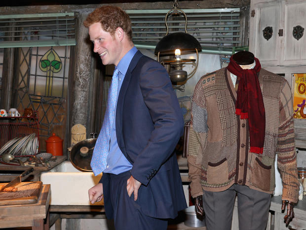 "William, Kate and Harry tour ""Harry Potter"" studio"